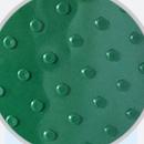 绿色凸点花纹输送带--表面圆钉,防滑耐磨