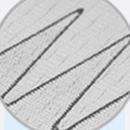 PU白色输送带-热熔齿形接头