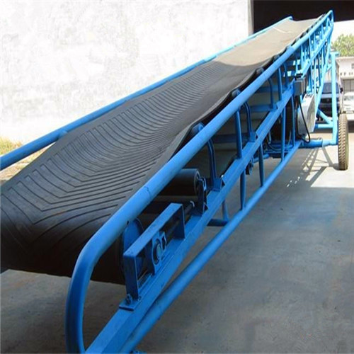 粮食输送机械输送带为什么选择pu输送带