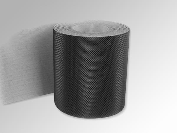2.0mmPVC黑色钻石纹输送带