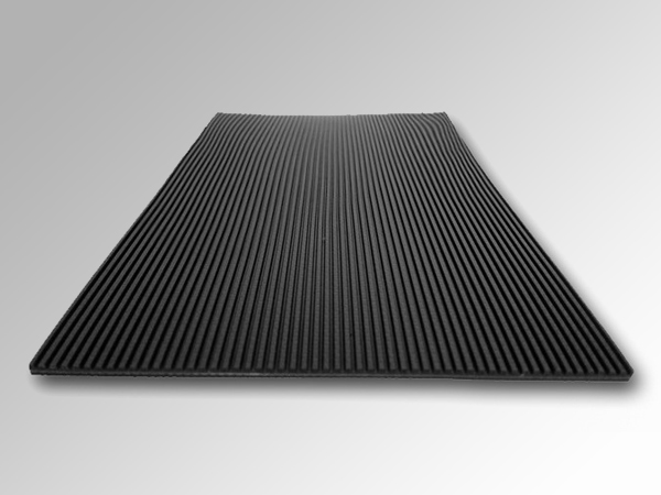 3.0mmPVC黑色直条纹输送带