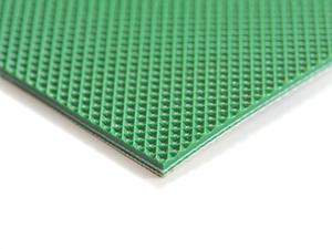 PVC钻石纹绿输送带